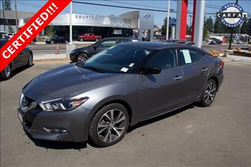 2016 Nissan Maxima for sale in Portland, OR