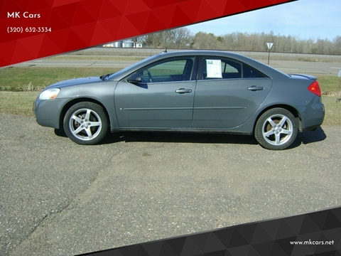 2008 Pontiac G6 for sale in Little Falls, MN