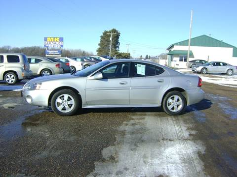 2007 Pontiac Grand Prix for sale at MK Cars in Little Falls MN