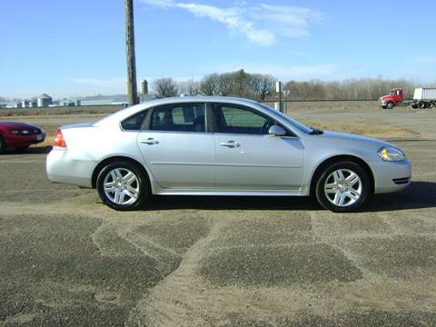 2012 Chevrolet Impala for sale at MK Cars in Little Falls MN