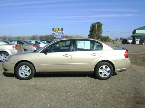 2005 Chevrolet Malibu for sale at MK Cars in Little Falls MN