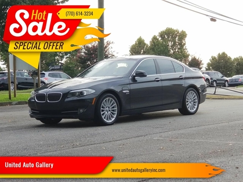 2011 BMW 5 Series for sale in Suwanee, GA