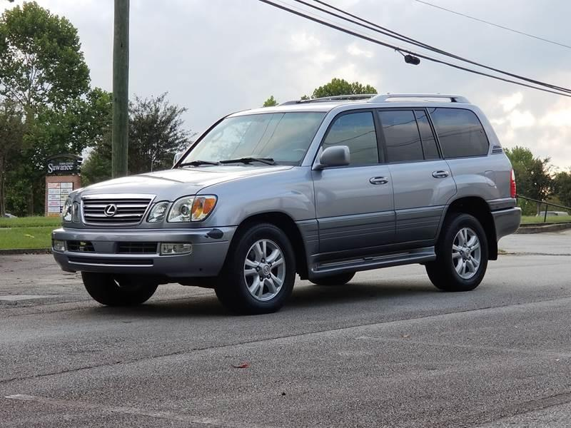 2005 Lexus LX 470 for sale at United Auto Gallery in Suwanee GA