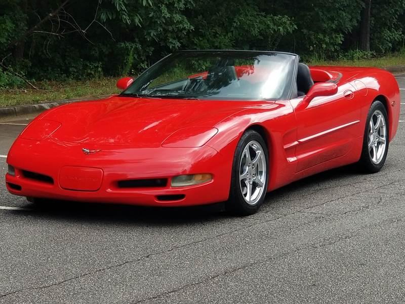 2004 Chevrolet Corvette for sale at United Auto Gallery in Suwanee GA