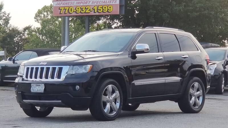 2013 Jeep Grand Cherokee for sale at United Auto Gallery in Suwanee GA