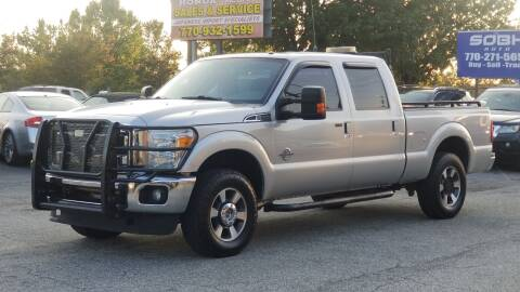 2015 Ford F-250 Super Duty for sale at United Auto Gallery in Suwanee GA