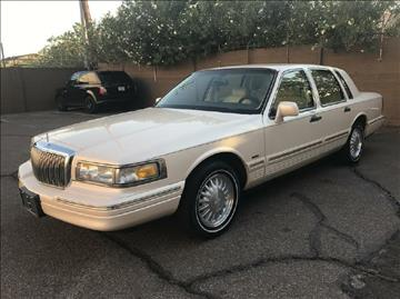 1997 Lincoln Town Car for sale in Phoenix, AZ