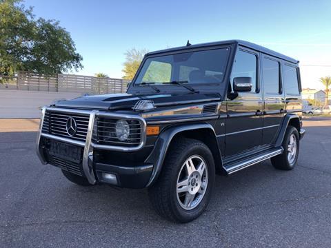 2004 Mercedes-Benz G-Class for sale in Phoenix, AZ