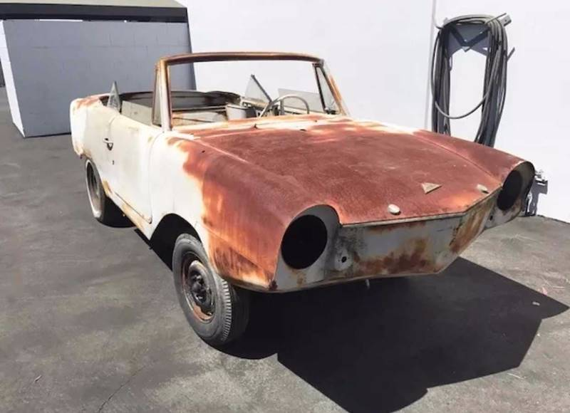1967 Amphicar Model 770 for sale at STL Car Buys in Park Hills, MO