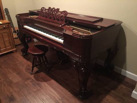 Emerson 1894 Square Victorian Piano for sale at Investment Car Brokers in Park Hills MO
