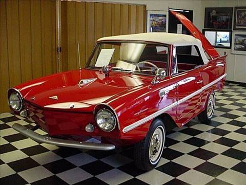 1967 Amphicar Convertible for sale at STL Car Buys in Park Hills, MO