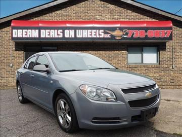 2008 Chevrolet Malibu for sale at Dream Deals on Wheels in Bridgeport OH