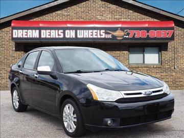 2011 Ford Focus for sale at Dream Deals on Wheels in Bridgeport OH