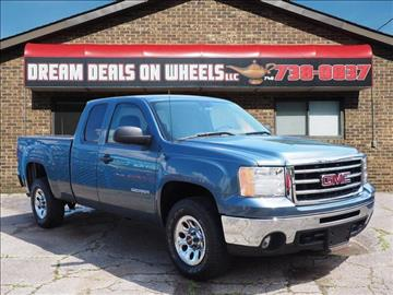 2012 GMC Sierra 1500 for sale at Dream Deals on Wheels in Bridgeport OH