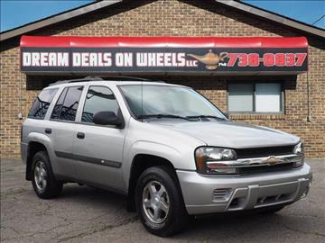 2004 Chevrolet TrailBlazer for sale at Dream Deals on Wheels in Bridgeport OH