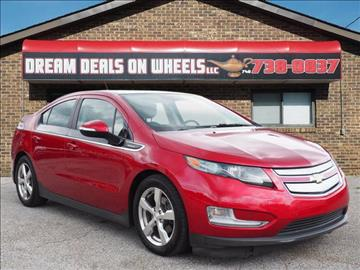 2012 Chevrolet Volt for sale at Dream Deals on Wheels in Bridgeport OH