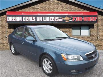 2006 Hyundai Sonata for sale at Dream Deals on Wheels in Bridgeport OH