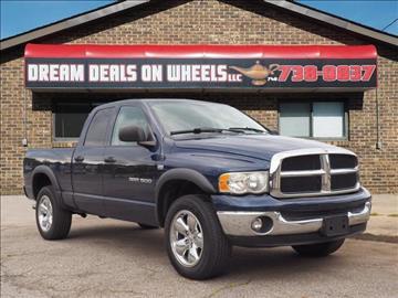 2004 Dodge Ram Pickup 1500 for sale at Dream Deals on Wheels in Bridgeport OH
