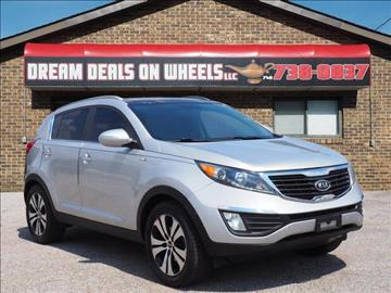 2012 Kia Sportage for sale at Dream Deals on Wheels in Bridgeport OH