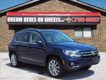 2013 Volkswagen Tiguan for sale at Dream Deals on Wheels in Bridgeport OH