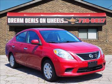 2013 Nissan Versa for sale at Dream Deals on Wheels in Bridgeport OH