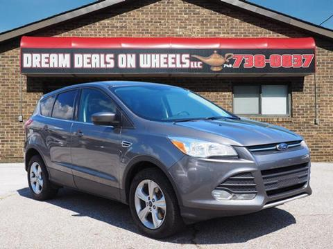 2014 Ford Escape for sale at Dream Deals on Wheels in Bridgeport OH