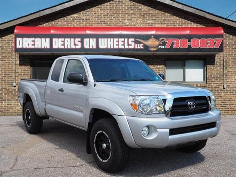 2008 Toyota Tacoma for sale at Dream Deals on Wheels in Bridgeport OH