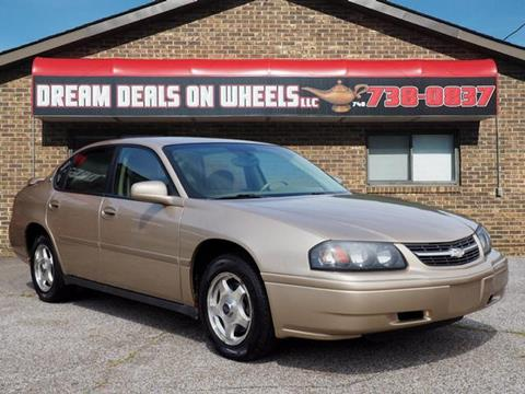2005 Chevrolet Impala for sale at Dream Deals on Wheels in Bridgeport OH