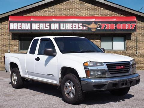 2005 GMC Canyon for sale at Dream Deals on Wheels in Bridgeport OH