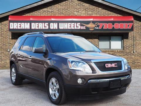 2011 GMC Acadia for sale at Dream Deals on Wheels in Bridgeport OH