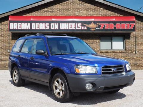 2003 Subaru Forester for sale at Dream Deals on Wheels in Bridgeport OH