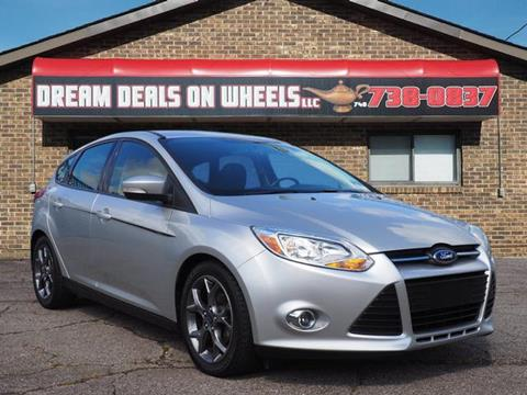 2013 Ford Focus for sale at Dream Deals on Wheels in Bridgeport OH