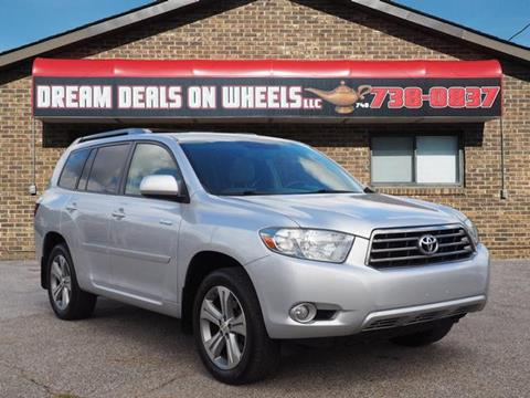 2008 Toyota Highlander for sale at Dream Deals on Wheels in Bridgeport OH