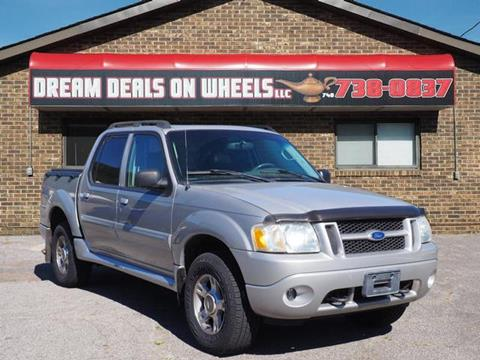 2004 Ford Explorer Sport Trac for sale at Dream Deals on Wheels in Bridgeport OH