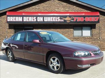 2003 Chevrolet Impala for sale at Dream Deals on Wheels in Bridgeport OH