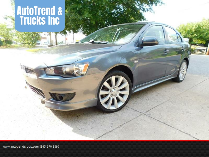 2008 Mitsubishi Lancer For Sale At AutoTrend U0026 Trucks Inc In Fredericksburg  VA