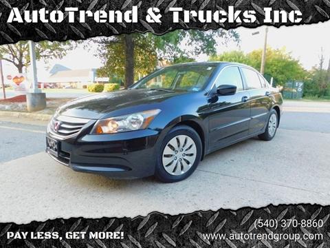 2011 Honda Accord for sale in Fredericksburg, VA