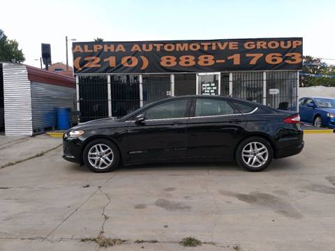 2015 Ford Fusion for sale in San Antonio, TX