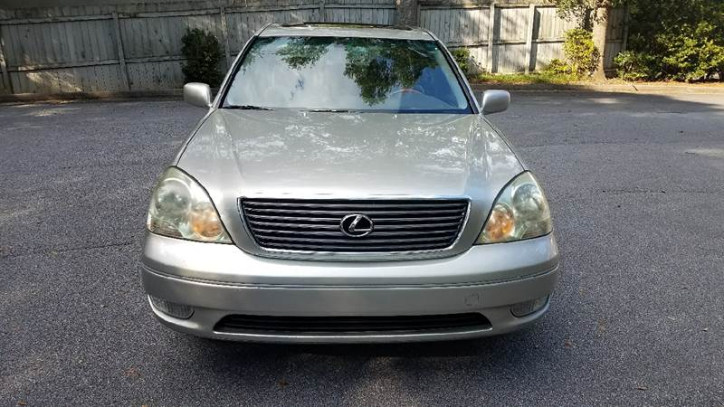 2002 Lexus LS 430 for sale at BUY HERE PAY HERE AT  MASSIVE AUTO BROKERS in Atlanta GA