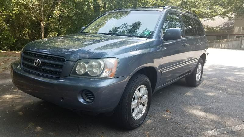 2003 Toyota Highlander for sale at BUY HERE PAY HERE AT  MASSIVE AUTO BROKERS in Atlanta GA