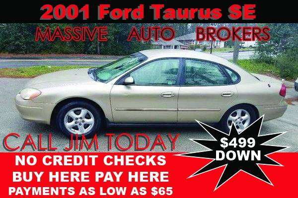 2001 Ford Taurus for sale at BUY HERE PAY HERE AT  MASSIVE AUTO BROKERS in Atlanta GA