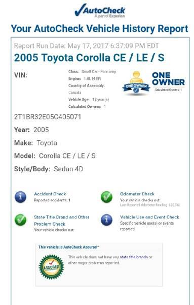 2005 Toyota Corolla for sale at BUY HERE PAY HERE AT  MASSIVE AUTO BROKERS in Atlanta GA