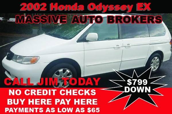 2002 Honda Odyssey for sale at BUY HERE PAY HERE AT  MASSIVE AUTO BROKERS in Atlanta GA