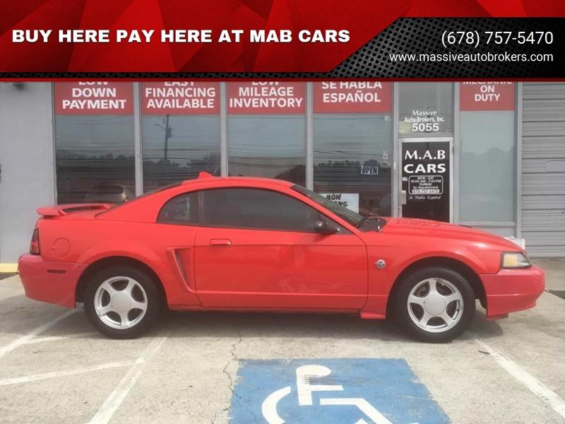 Buy Here Pay Here Atlanta Ga >> Buy Here Pay Here At Mab Cars Car Dealer In Norcross Ga