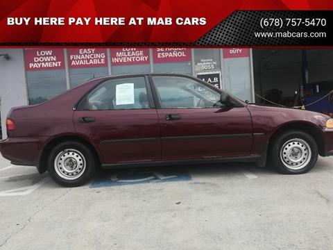 1992 Honda Civic for sale in Norcross, GA