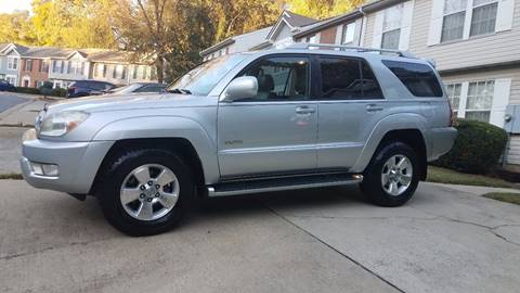 2004 Toyota 4Runner for sale at Massive Auto Brokers in Atlanta GA