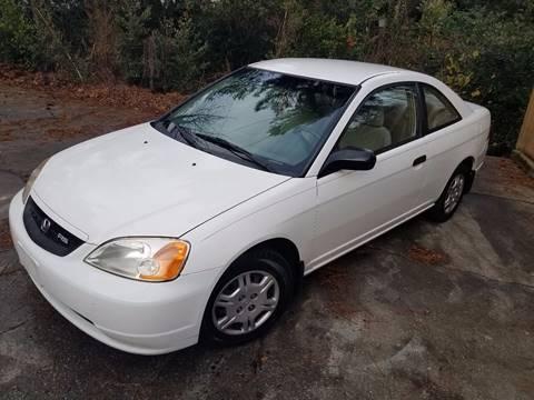 2001 Honda Civic for sale at Massive Auto Brokers in Atlanta GA