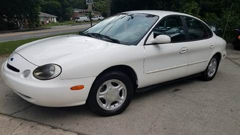 1996 Ford Taurus for sale at BUY HERE PAY HERE AT  MASSIVE AUTO BROKERS in Atlanta GA