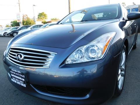 2008 Infiniti G37 for sale at Pristine Auto Sales in Sacramento CA