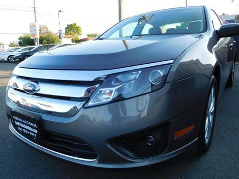 2012 Ford Fusion for sale at Pristine Auto Sales in Sacramento CA